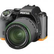 Pentax K-S2 + 18-135mm F/3.5-5.6 SMC DA WR - NERO/ARANCIONE - 2 Anni Di Garanzia