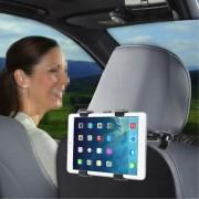 Shop4 - Microsoft Surface 2 Autohouder Hoofdsteun Tablet Houder Zwart