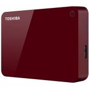 Disco Duro Externo Toshiba Canvio Advance 2tb Rojo