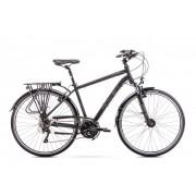 Romet Wagant 6 férfi trekking kerékpár Fekete
