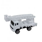 Maisto 1/64 Scale Cherry Picker Bucket Truck - White - Promotional Product - Your Logo Imprinted (Case Pack of 144)