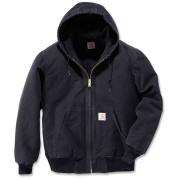 Carhartt Quilt Flannel Lined Sandstone Active Jacket Black M