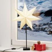 Standing star Solvalla - height 69 cm gold