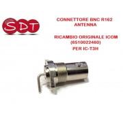 CONNETTORE BNC R162 ANTENNA RICAMBIO ORIGINALE ICOM (6510022460) PER IC-T3H