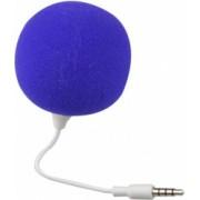 Boxa portabila universala Audio Dock forma de minge Jack de 3 5 mm Albastru