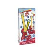 Електронна рок китара и микрофон със стойка - 191355К
