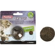 Jucarie pentru pisici Karlie, minge cu iarba pisicii, 5 cm