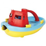 Green Toys My First Tug Boat Red