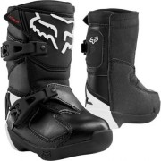 FOX Bottes Fox Kid Comp Noir Blanc