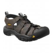 KEEN Newport M Pánské kožené sandály KEN1201000612 neutral gray/gargoyle 45