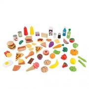 KidKraft 65Pc Pretend Play Food Set Playset
