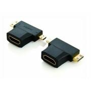 Kábelek mini HDMI és micró HDMI - HDMI mama átalakító