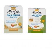 Desa Pharma Apropos Gola Defens Spray No Alcol 20ml + Vox Defence 5 Pastiglie Miele Limone