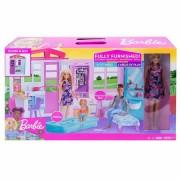 Barbie-Căsuţa pe plajă cu păpuşă