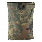 Nylonbeutel flecktarn gross