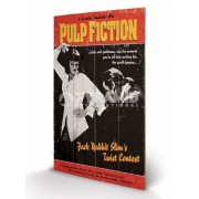 Imagine pe lemn Pulp Fiction - Twist Contest - PYRAMID POSTERS - LW10496P