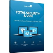 F-Secure Total Security & VPN 2020 Download Vollversion 3 Geräte 1 Jahr