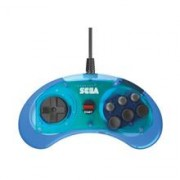 Controller Retro Bit Sega Md Mini 6 B Usb Blue Pc