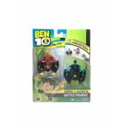 Set 2 figurine de lupta Ben 10 - Torta Vie si XLR8