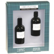 Geoffrey Beene Grey Flannel 120Ml Edt 120Ml + 120Ml Aftershave Per Uomo (Eau De Toilette)