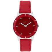 LAURELS Colors Series Red Color Women Watch (Lo-Colors-1003)