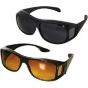 EUROS Sports Sunglasses(Black, Brown)