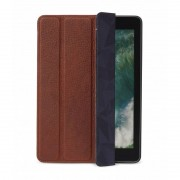 Decoded Pouzdro / kryt pro iPad 2018 / iPad 2017 / iPad Air 2 - Decoded, Leather Slim Cover Brown