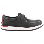 Mocasines Hombre Sperry Top-Sider Caspian Boat Leather-Negro