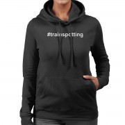 Cloud City 7 Trainspotting T2 Hashtag Trainspotting kvinnor 's Hooded Sweatshirt Svart Medium