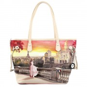 Y Not? Borsa Donna Y NOT Shopping Media a Spalla L-336 Mont Martre