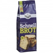 Mix de faina pentru paine rapida cu seminte fara gluten Bauck Hof