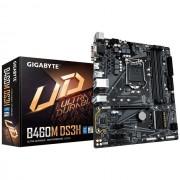 MB, GIGABYTE B460M-DS3H /Intel B460/ DDR4/ LGA1200