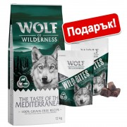 12кг Adult Rocky Canyons Wolf of Wilderness, суха храна за кучета с говеждо