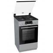 Gorenje Cooker K5351SF Hob type Gas, Oven type Electric, Stainless steel, Width 50 cm