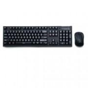 Zalman ZM-KM870RF безжична мишка и клавиатура, до 10м обхват, 1500 dpi, USB, черни