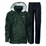 Didriksons Tigris Print Design Unisex Rainwear / Anoraks Set Top & Bottom Black Quad 548177