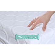 IMMUNOCTEM Matelas anti-acariens IMMUCONFORT 90*200*15 cm Confort Ferme