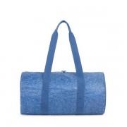 Skládací víkendová taška Herschel Packable modrá s bílými tečkami