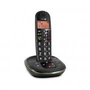 Doro PhoneEasy 105WR - Single DECT telefoon - Antwoordapparaat - Zwart