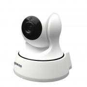 Anpwoo YT002 vernuftig T10 720P HD WiFi IP-Camera met infrarood LEDs van de 11 PC's ondersteuning van bewegingsdetectie & nachtzicht & TF kaart (Max 64GB)