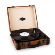 Jerry Lee Giradischi Retrò LP USB Marrone
