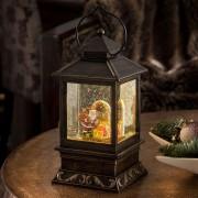 Decorative lantern Father Christmas and Children