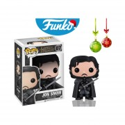 Jon snow Funko pop navidad game of thrones serie television