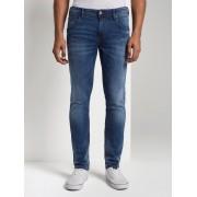 TOM TAILOR DENIM Jeans Culver skinny , Heren, Used Dark Stone Blue Denim, 33/32