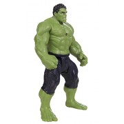 Smart Buy Avengers 2 Hulk Age Of Ultron Action Figure 19Cms With LED Light On Chest With Hands, Legs Movable - Green