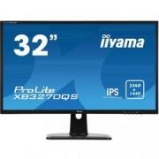 Iiyama LED monitor Iiyama ProLite XB3270QS, 81.3 cm (32 palec),2560 x 1440 px 4 ms, IPS LED DisplayPort, DVI, HDMI™, zásuvka sluchátek