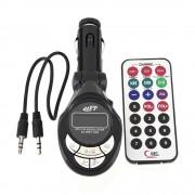 XMAX MP3 - Fm transzmitter LCD kijelzővel és távirányítóval, 4in1
