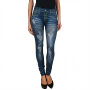 INTIMAX BLUE SEAM LEGGING S/M