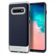 Carcasa Spigen Neo Hybrid Samsung Galaxy S10 Arctic Silver