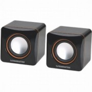 BOXE MANHATTAN USB POWERED, 2x 3W, RETAIL BOX 161435